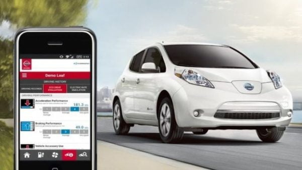 Nissan software bug
