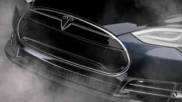 tesla smart car