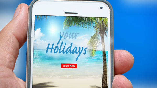 UX testing holiday websites