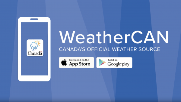 Government launches WeatherCAN weather app for mobile