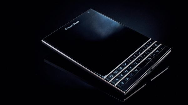 Blackberry device