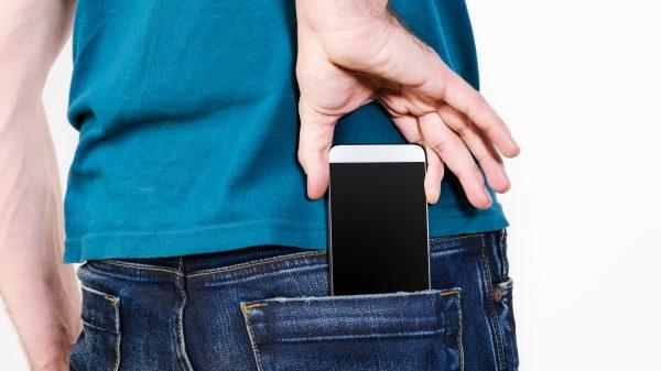Phone back pocket
